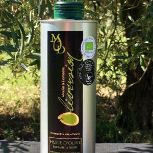 Huile d'olive fruité vert léger