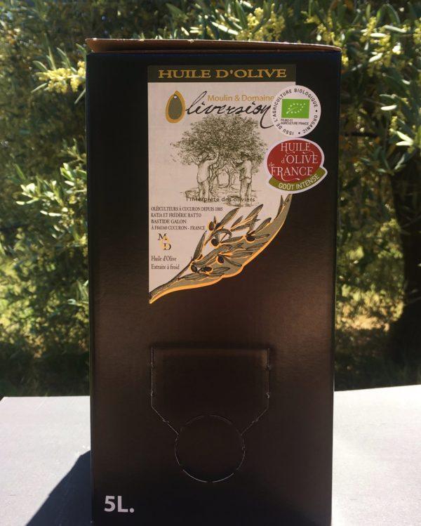 Huile d'olive fruité 5l