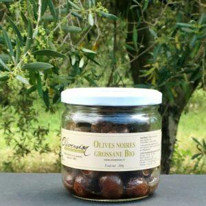 Olives noires Grossane Bio