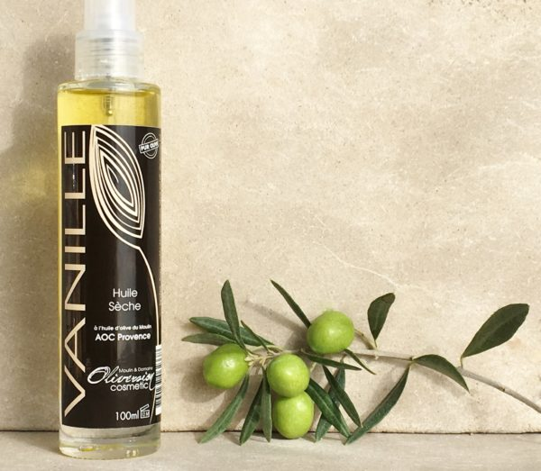 Huile sèche à la vanille