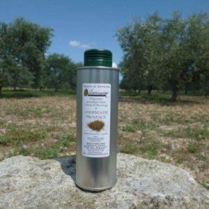 Huile d' Olive Aromatisée aux Herbes de Provence
