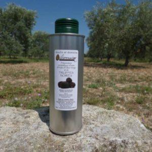 Huile d'Olive Aromatisée aux Truffes Noires 0.25 L