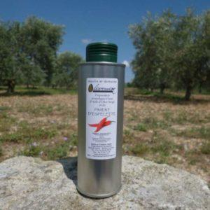 Huile d' Olive Aromatisée au Piment d'Espelette 0.25 L