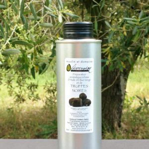 huile d'olive aromatisee aux truffes noires 25 cl