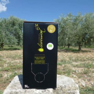 Huile Olive AOC Provence Bio Fruité Vert BIB 5L