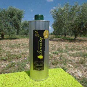 Huile Olive AOC Provence Bio Fruité Vert 1L