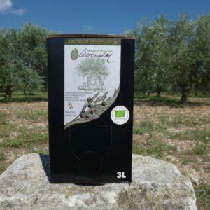 Huile d'Olive vierge-extra Bio Fruité Vert BIB 3L
