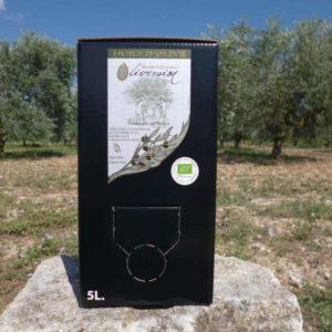 Huile d'Olive vierge-extra Bio Fruité Vert BIB 5L