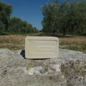 Savon solide exfoliant olive argile rouge 100g