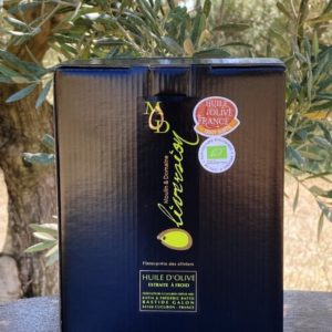 Huile d'olive fruité mur BIO