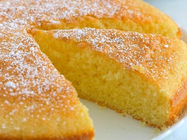 Gâteau verre de lait aux citrons de Menton